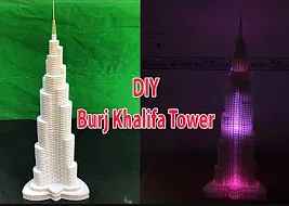 How to make Burj Khalifa Tower in Dubai thumb