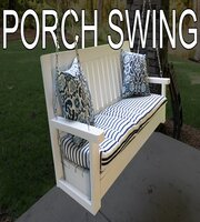 Building a Porch Swing by Around the house thumb